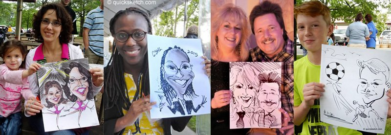Assorted Caricature Samples Caricature Artist for parties caricaturist ny Caricature Artist on Long Island in Nassau County Suffolk County Caricaturist in NYC Brooklyn Queens Bronx Westchester Staten Island NY NJ CT area Party Entertainment for First Birthday Sweet-16 Wedding Rehearsal Dinner Bridal Shower Bar Mitzvah Company Picnic Christmas Parties 10th Birthday First Holy Communions 30th 40th 50th Surprise Parties Bat Mitzvah High School Project Grad College Graduation Party Sheva Brachot Blue & Gold Banquet entertainment Retirement Parties and Gifts Business Promotions Divorce Party Golf & Tennis Outings Fire Dept Picnics & Installation Dinners Branch Opening & Anniversarie