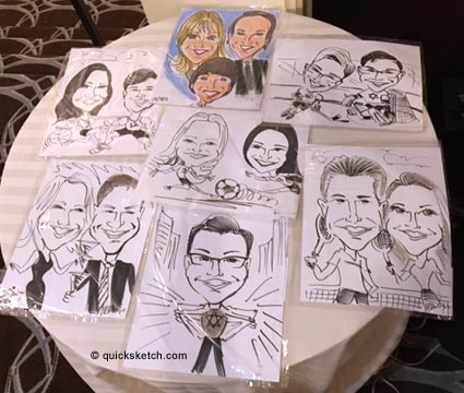 b'nai mitzvah entertainment caricatures