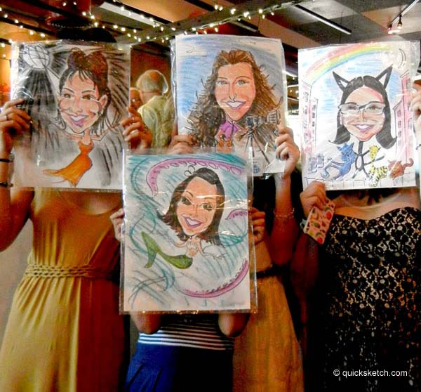 sweet sixteen party entertainment caricatures