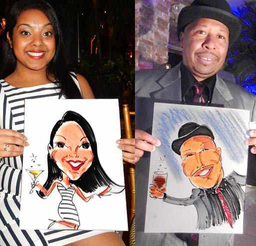 caricatures fast fun holiday office party ideas staff party entertainment fun christmas party sketch artist corporate